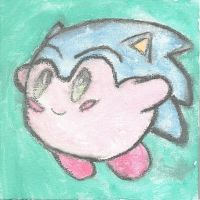 Sonic Kirby by SonicKirbyLover