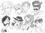 MLP sketches seis by thelivingmachine02