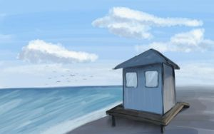 Lifeguard Tower by sticmann