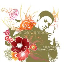 Elis Regina cover art by Cooldot-