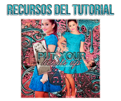 Recursos tutorial - Put your hearts up by mauriadkins77