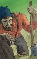Paul Bunyan by FredDavis