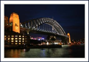 Harbour Bridge by Tiberius47