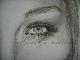 Lucille - Details Eyes by DarkGirlDrawings