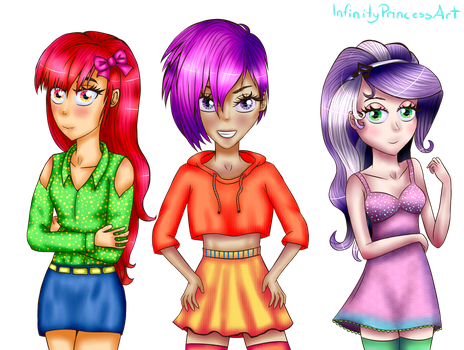 Re-drawn: CMC, You And Me! by InfinityPrincessArt
