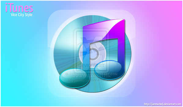 iTunes Vice City Style by janmarkelj