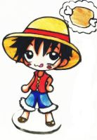 Chibi Luffy 2 by TaSaMaBi