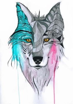 Temporal Wolf by Mime-Komics
