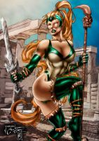 Artemis (colors) by FantasticMystery