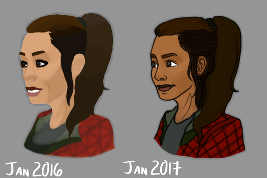 Raven Reyes (improvement) by JimTigerLily