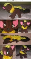 Yellow Xweetok plushie by teenagerobotfan777