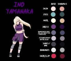 Ino Yamanaka Shippuden-Anime Color by Ade-R
