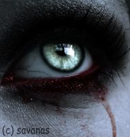 Vampire Eye by SavanasArt