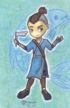 Avatar Chibies- Sokka by who-stole-MY-name