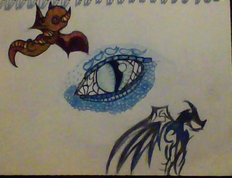 Tattoo Design: Dragon by Element115Infection