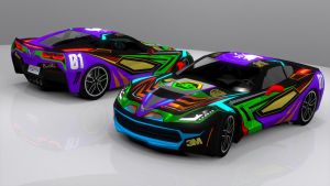 EVA Racing Corvette C7 by skytire