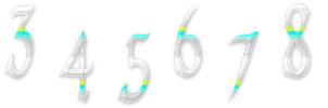 numbers png by project-wild-nature