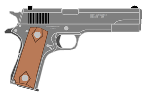 M1911 455 webley auto by thesketchydude13