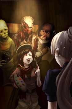 RWBY- Let's play : Layers of Fear by dishwasher1910