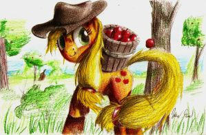 Applejack by LordGood