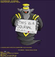 Dusknoir Journal Skin by AbyssinChaos