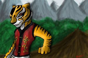 Master Tigress by PaperclipGhost