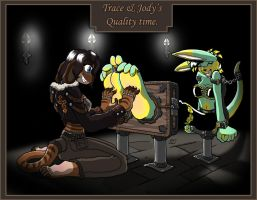 TTD 03 - Trace and Jodys QT by Caroos-Dungeon