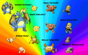 7 Deadly Pokemon Fusions by PacificIslanderGirl