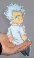 Hitsugaya Paperchild by PandorasJukebox