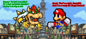 Giga Mario and Koopzilla Face-Off by KingAsylus91