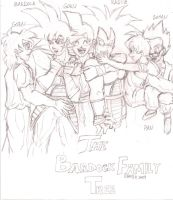 The Bardock Family Tree by SL-i-P