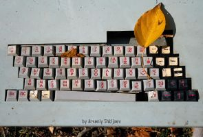 Autumn Keyboard From The Unkno by gamebalance