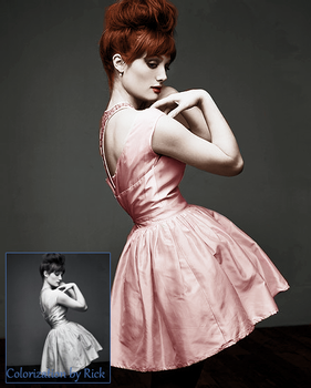 Alison Sudol Colorization by Kim-Rick