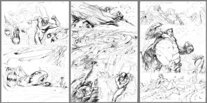 The Flash wally west Seqs by Peter-v-Nguyen