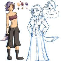 Character Design: Ruth by forevergeek