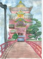 Spirited Away Bathhouse by LuciaAntemis