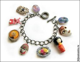 "Bracelet ""Voyage"" 1 by allim-lip"