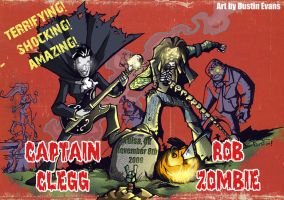 Rob Zombie and Captain Clegg by DustinEvans