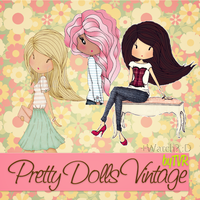 Doll's Vintage PNG by TheVintageRose