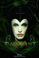 Maleficent - Teaser Poster (2nd Version - Smoke) by Graphuss