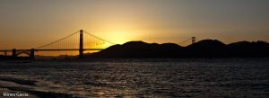 Golden Gate Panoramic by trencapins
