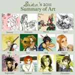2011 Art year by balba-bunny