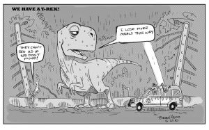 We have a T Rex by Hesstoons