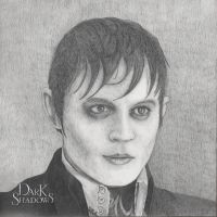 Johnny Depp As Barnabas Collins by Nephthys76