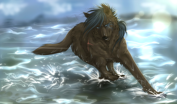 Beast of lakes by Mempsis