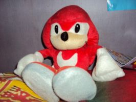 Knuckles Plush 2 by DazzyDrawingN2