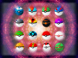 pokeball icons by gunezzue