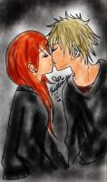 this is the kiss by scarlet-glow