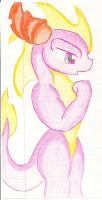doodle of spyro by BombStarUltra