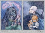 ACEO: Sashah and Richard by emla
